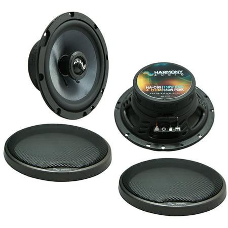 Fits Honda Element 2003-2011 Front Door Replacement Harmony HA-C65 Premium Speakers New Honda Fit Speakers