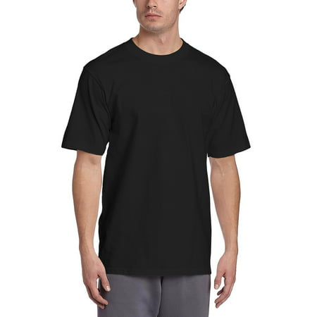 Mens SUPER MAX T Shirt Heavyweight Solid Short Sleeve Tee S-5XL