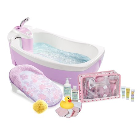Summer Infant 4-Stage Lil\' Luxuries Baby Bubbling Spa Bath & 32 ...