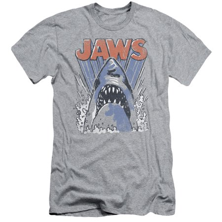 Jaws Comic Splash Mens Slim Fit Shirt