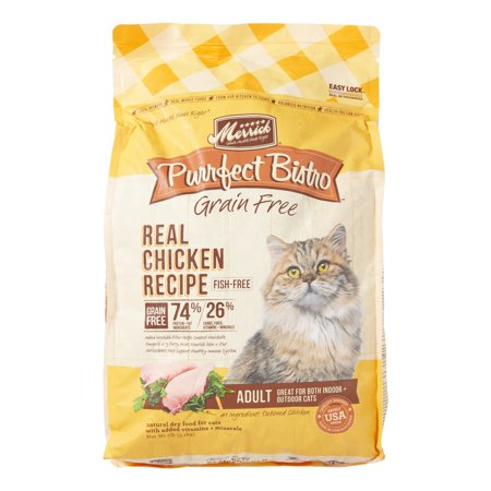 (Merrick Purrfect Bistro Grain-Free Real Chicken Recipe Dry Cat Food, 7 lb)
