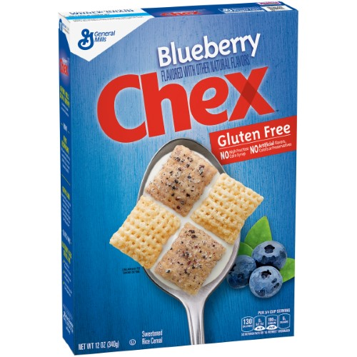 Chex Blueberry Cereal (Pack of 4)