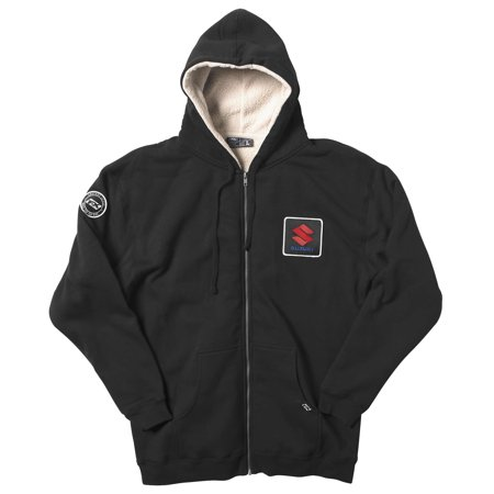 - Factory Effex Apparel Xlsuzuki Sherpa Zip Hoody Blk Xl 20-88426 New