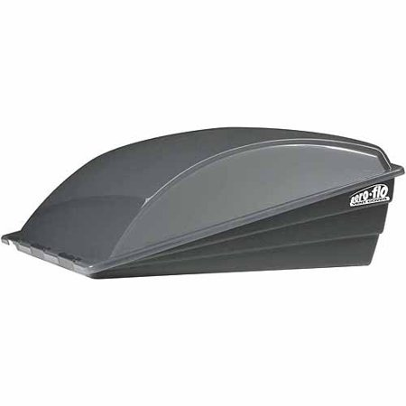 Camco Aero-flo Roof Vent Cover, Smoke