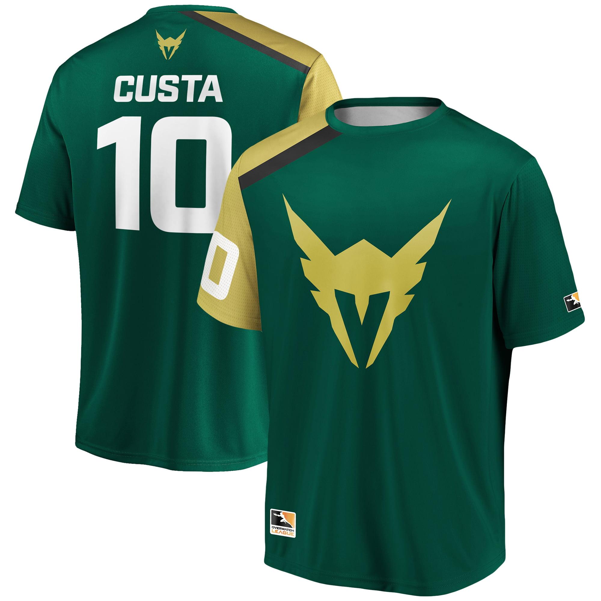 Custa Los Angeles Valiant Overwatch League Replica Home Jersey - Green