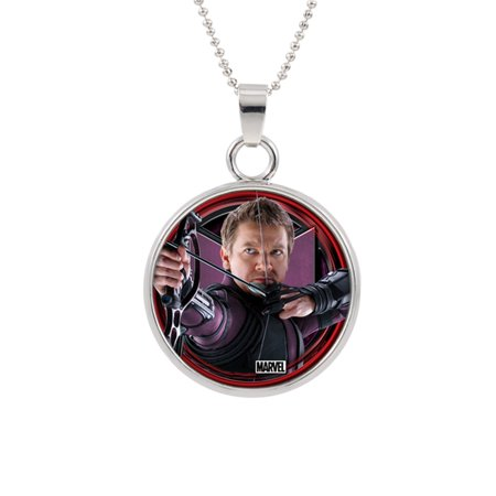 Hawkeye Pendant Necklace Marvel Comics (Iowa Hawkeyes Jewelry)
