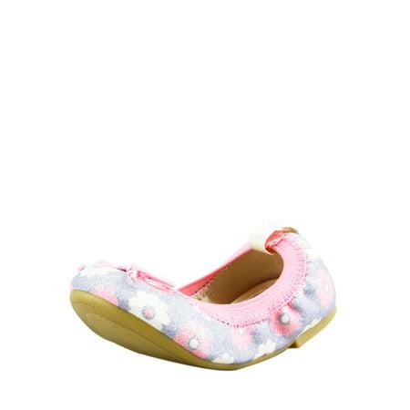 The Doll Maker Floral Glitter Ballet Flat-TD171002A-12