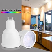 Milight GU10 5W RGB WW LED Spotlight Wifi Smartphone APP Control Light Bulb , GU10 LED Light Bulb,LED Light Bulb