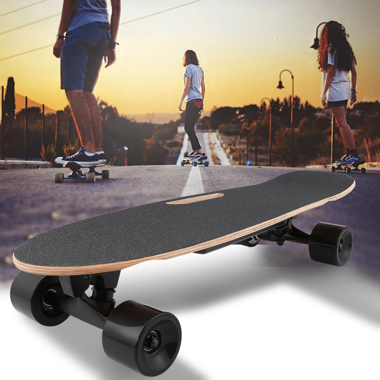 Electric Skateboard 350W Motor Long Board E-Skateboard Wireless Remote Ctrl US