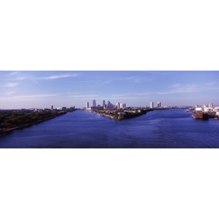Buildings in a city Tampa Hillsborough County Florida USA Canvas Art - Panoramic Images (36 x 13) - Party City In Tampa Florida