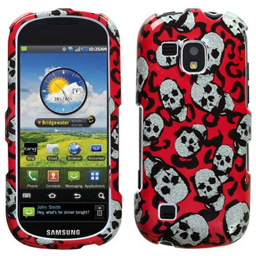 Samsung I400 Continuum MyBat Protector Case, Leopard Skulls Sparkle