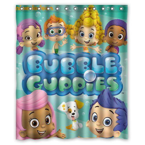Bubble guppies bathroom