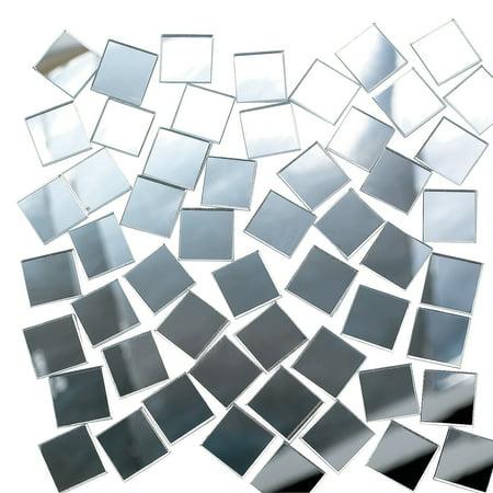 Fun Express - Marvelous Mirror Tiles 400pcs - Craft Supplies - Bulk Craft Accessories - Jewels - 400 Pieces](Bulk Gemstones)
