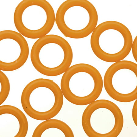 25pcs Mud O-Ring For Flat Licorice Leather 8x2mm