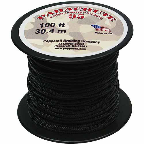 Pepperell Parachute Cord 95, 100' Roll
