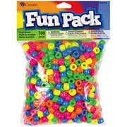 Cousin Fun Pack Acrylic Pony Beads, 700pk