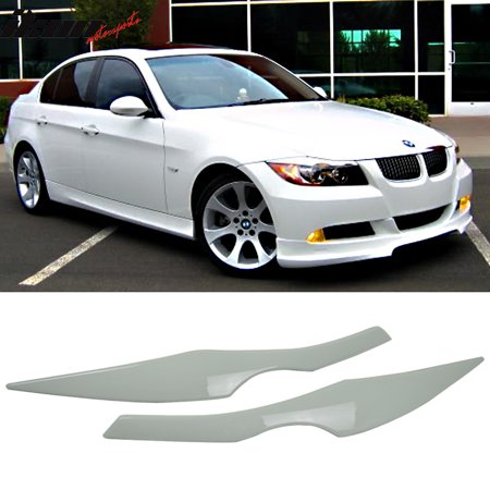 E90 Accessories - Fits 06-11 Bmw E90 ABS Front Eyelid Eyebrow OEM