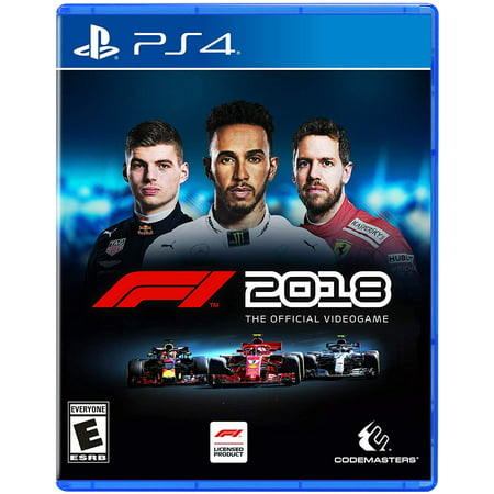 F1 2018, Square Enix, PlayStation 4, 816819015292