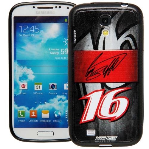 Greg Biffle #16 Galaxy S4 Bumper Case