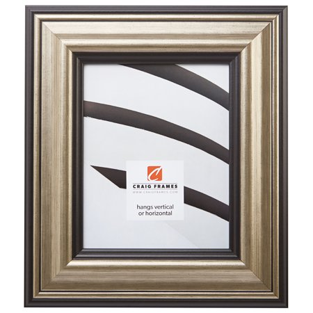 Craig Frames Sonora, Southwestern Canyon Silver Picture Frame, 12 x 12 Inch
