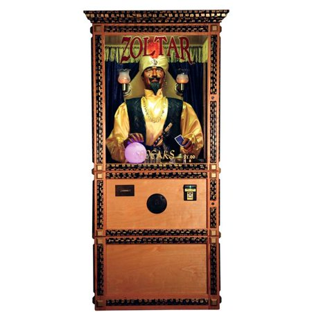Star Cutouts SC2112 Zoltar The Fortune Teller - Fortune Teller Halloween Decoration