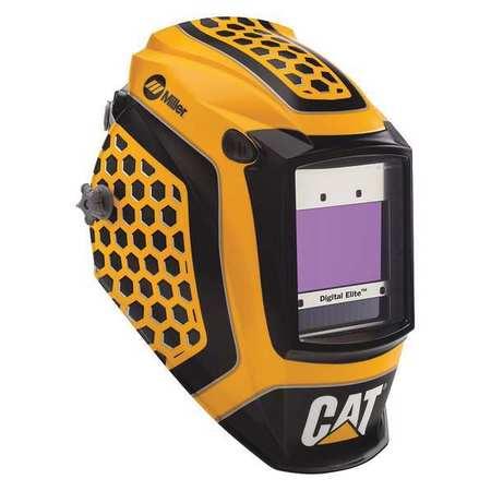 MILLER ELECTRIC Welding Helmet,CAT(R)1st Edition,2-3/8i 281006