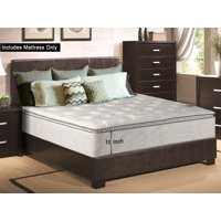 "WAYTON Medium Plush Pillow Top 10"" Innerspring Mattress"
