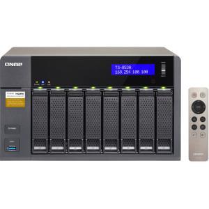 QNAP Turbo NAS TS-853A NAS Server - Intel Celeron N3150 Quad-core (4 Core)  1 60 GHz - 8 x Total Bays - 4 GB RAM DDR3L SDRAM - Serial ATA/600 - RAID