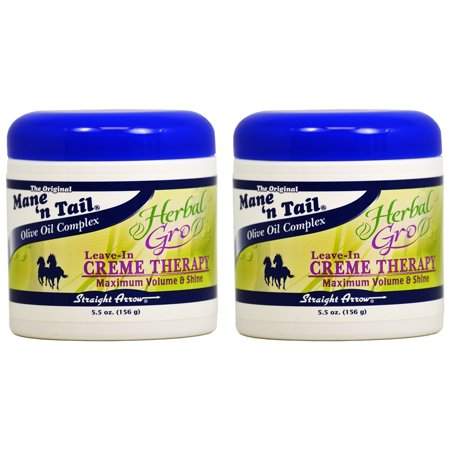 Mane N Tail Herbal Gro Creme Therapy Leave-In 5.5oz (pack of 2)