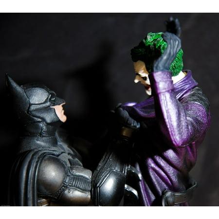 LAMINATED POSTER Joker Cartoon Figurine Batman People Character Poster Print 24 x 36