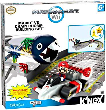 Super Mario Mario Kart Wii Mario vs Chain Chomp Set