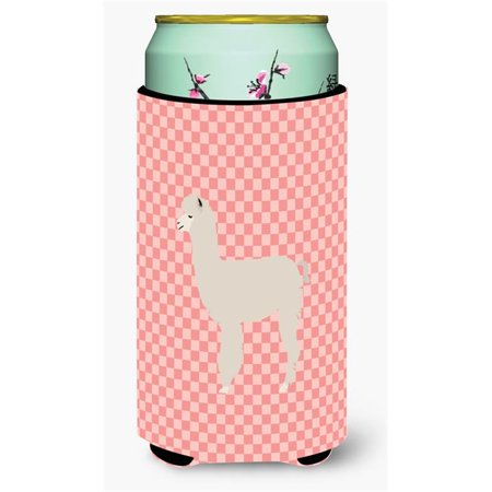 Carolines Treasures BB8093TBC Alpaca Blue Check Tall Boy Beverage Insulator Hugger - image 1 of 1