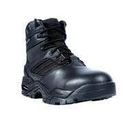 Ridge Outdoors USA Inc. Ridge Outdoors Men's Black Leather Mid Zipper Motorcycle Boots