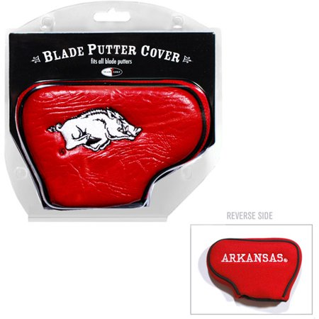 Team Golf NCAA Arkansas Golf Blade Putter Cover (Ncaa Putter Cover Blade)