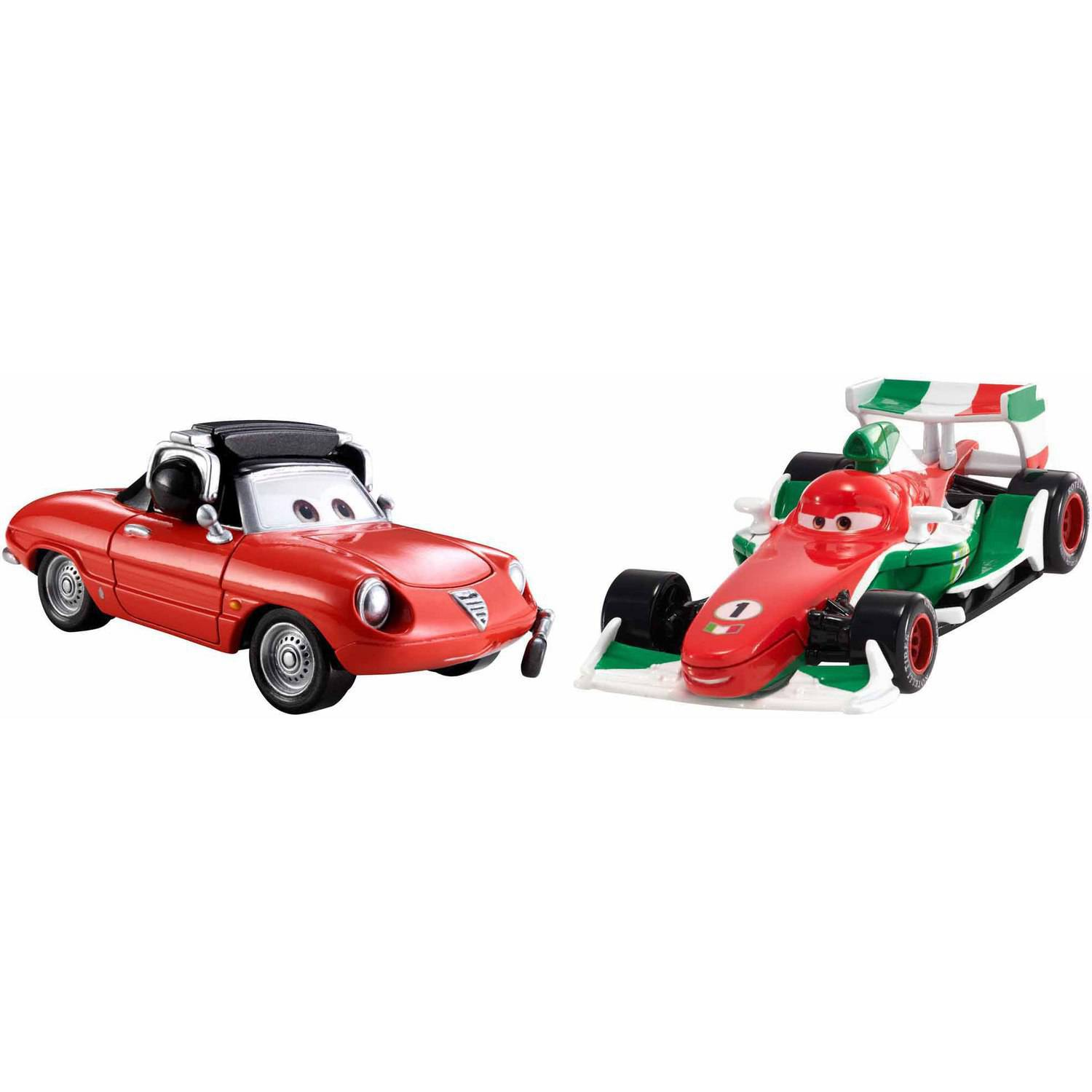 Disney Cars Character Car 2-Pack Francesco and Guiseppe