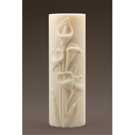 Ceremonial Candles Lilies Unity Candle