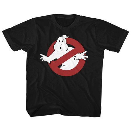 American Classics Real Ghostbusters SYMBOL Black Child Unisex - Ghostbuster Kids
