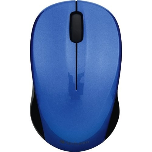 Verbatim Silent Wireless Blue LED Mouse, Blue