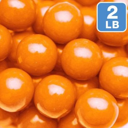 Orange Gumballs 2lb (Each) - Party Supplies