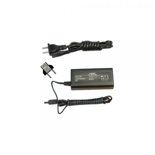 GZMG21U Camcorder with USA Cord /& Euro Plug Adapter HQRP Replacement AC Adapter//Charger for JVC Everio GZ-MG21U