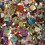 Sequins & Spangles 4ozAssorted Shapes & Colors