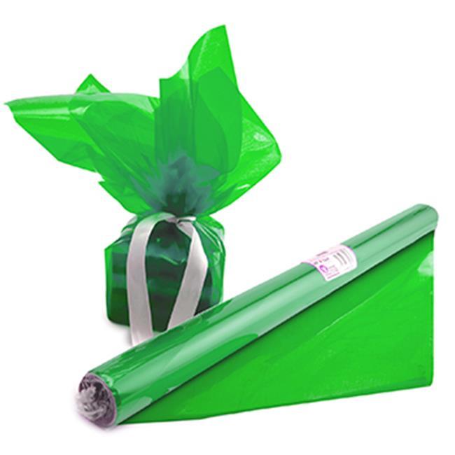 Cello Wrap Roll Green