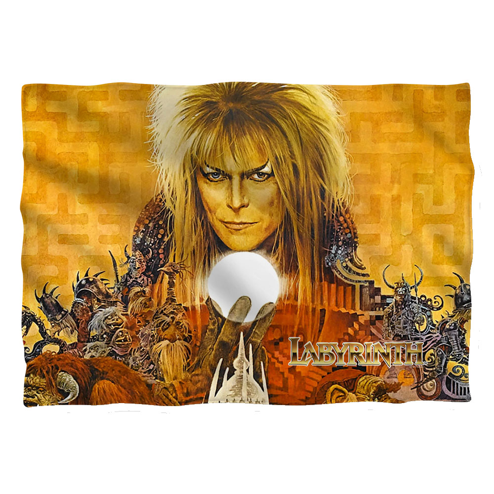 Labyrinth 1986 Family Fantasy Adventure Movie Crystal Ball Pillow Case