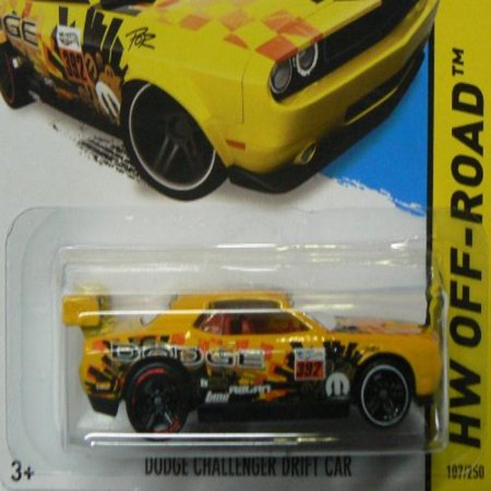(Hot Wheels HW Off-Road 107/250 Dodge Challenger Drift Car)