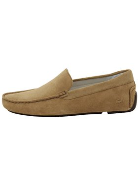 84f827260bad4 Product Image Lacoste Men's Piloter Suede Loafers Shoes, Light Tan, Men's 11