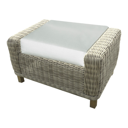 Forever Patio Telluride Ottoman with Cushion