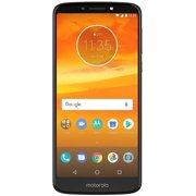 "Motorola Moto E5+ Plus (32GB, 3GB RAM) 6.0"" Display, 5000 mAh Battery, Dual SIM 4G LTE (GSM Only) Factory Unlocked Smartphone - International Model XT1924-3 (Black)"
