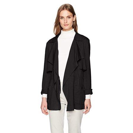 Jack by BB Dakota Women's Ernst Rayon Twill Double Layer Jacket SZ: M Double Layer Jacket