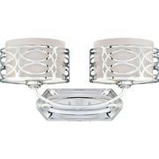 Nuvo Lighting  60/4622  Bathroom Fixtures  Harlow  Indoor Lighting  Vanity Light  ;Polished Nickel