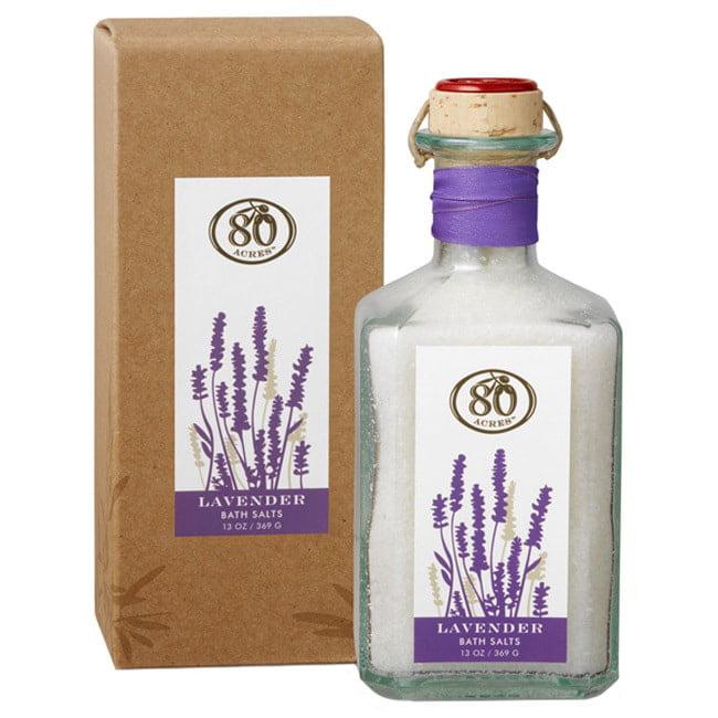 80 Acres  13-ounce Lavender Bath Salts